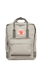 Fjall Raven Fjallraven Kanken Backpack Fog Striped