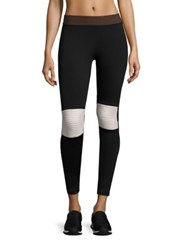 Olympia Moto Colorblock Leggings Jet Cream Navy