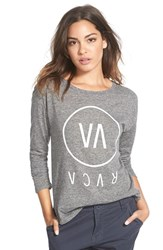 Junior Women's Rvca 'High End' Long Sleeve Tee