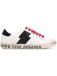 Amiri Lace Up Sneakers White