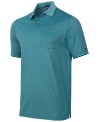 Greg Norman For Tasso Elba Men's Diamond Jacquard Golf Polo Dragonfly