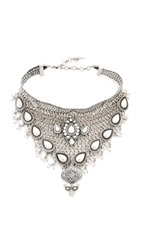 Samantha Wills World From Here Collar Necklace Burnished Silver