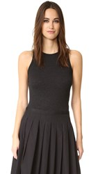 Vince High Neck Tank H. Black