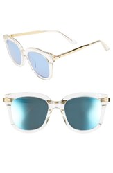Gentle Monster Women's Absente 54Mm Zeiss Lens Sunglasses Clear Gold Clear Gold