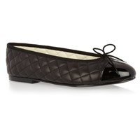French Sole Simple Quilted Leather Size 39 Sm277