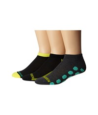 Steve Madden 3 Pack Athletic Low Cut 1 2 Cushion And Arch Support Charcoal Yellow Men's Low Cut Socks Shoes Gray