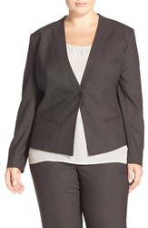Plus Size Women's Sejour Pique Suit Jacket