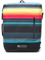 Paul Smith Ps Striped Print Backpack 60
