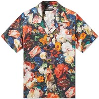 Raised By Wolves In Bloom Vacation Shirt Multi