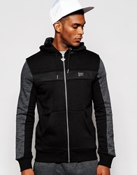 Creative Recreation Zip Up Hoodie In Marl Black