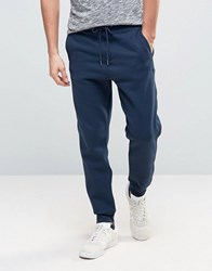Pull And Bear Pullandbear Skinny Joggers In Navy Navy