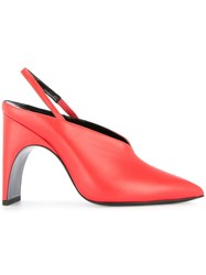 Pierre Hardy Slingback Pumps Red