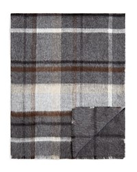 Bloomingdale's The Men's Store At Reversible Plaid Windowpane Scarf Neutral