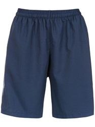 Track And Field Sport Running Shorts Blue