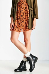 Urban Outfitters Chase Combat Boot Black