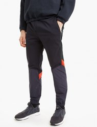 Tim Coppens Panelled Wool Track Pants Navy