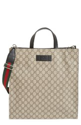 Gucci Men's Web Strap Tote