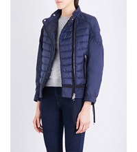 Moncler Aubagne Quilted Jacket Navy