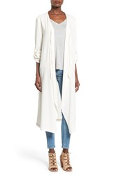 Junior Women's Sun And Shadow Woven Duster