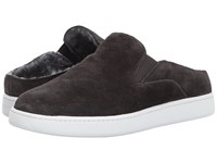 Vince Verrell 3 Pewter Coco Sport Suede Women's Shoes Black