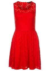 Morgan Rola Cocktail Dress Party Dress Rouge Party Red