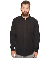 Globe Dion Delirium Long Sleeve Top Lead Men's Long Sleeve Button Up Gray