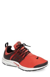 Nike Men's Air Presto Essential Sneaker Track Red Black Summit White