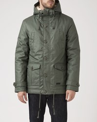 Roscoe Olive Green Frost Parka