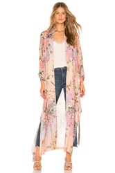 Spell And The Gypsy Collective Lily Maxi Kimono Pink