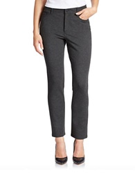 Nydj Petite Solid Jeggings Charcoal
