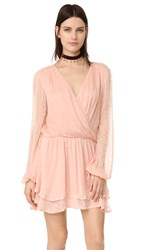 Free People Dahlia Mini Dress Peach