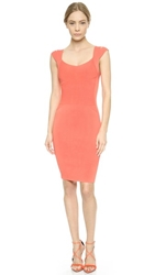 Narciso Rodriguez Sleeveless Dress Coral