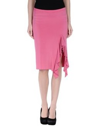 Ilary Knee Length Skirts Fuchsia
