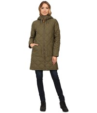 Burton Bixby Long Down Jacket Keef Women's Coat Olive
