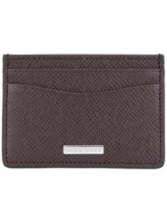 Hugo Boss Classic Cardholder Men Calf Leather One Size Red