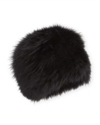 Surell Fox Fur Bubble Hat