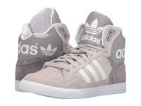Adidas Extaball W Charcoal Solid Grey White Clear Granite Women's Classic Shoes Beige