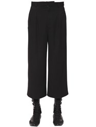J.W.Anderson Loose Fit Cropped Viscose Pants