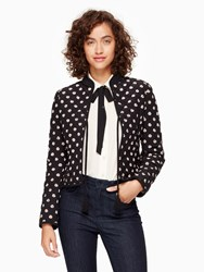 Kate Spade Ditzy Quilted Jacket Black