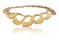 Judy Geib Twisted Collar Necklace No Color