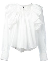 Isabel Marant Arlington Blouse White