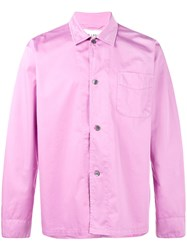 Our Legacy Long Sleeve Shirt Pink Purple