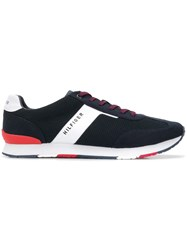 Tommy Hilfiger Mesh Panel Running Sneakers Blue
