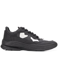 Filling Pieces Lace Up Low Top Trainers Black