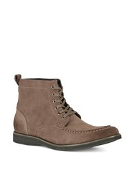 Marc New York Borden Suede Ankle Boots Grey