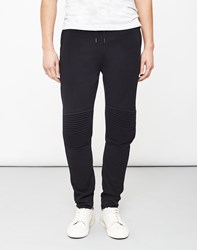 Only And Sons Fritz Quilted Joggers Black