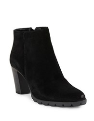 The Flexx Dipsy Suede Ankle Boots Black