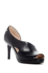 Revolution Ask My Name Half D'orsay Pump Black