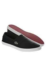 Lacoste Marice Lcr Canvas Slip On Shoes Black