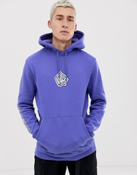 Volcom Deadly Stone Hoodie In Purple